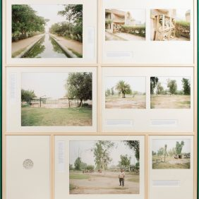 Great Baghdad Garden, Baghdad - Iraq 2011-2013, Traditional analog film photography Giclée print 160 x 170 cm  Edition of 3 + 1 AP